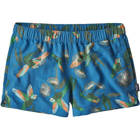 Patagonia Barely Baggies Shorts Dam parrots/port blue